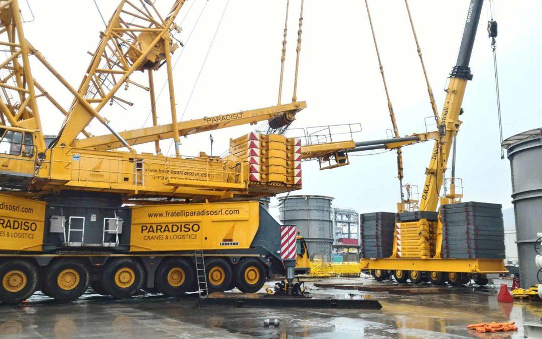 Stabilimento Nuovo Pignone Marina di Carrara(MS)